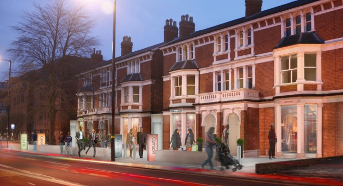New 1 and 2 bed apartments at 16-22 Harborne Road