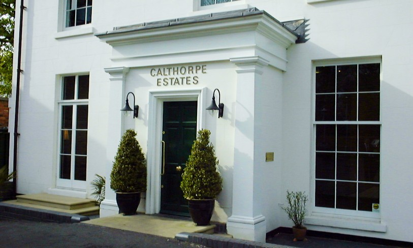 Calthorpe Estates offices entrance