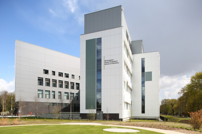 Pebble Mill, home to the new Dental Hospital and School of Dentistry