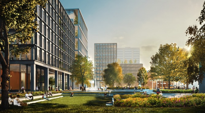 New Garden Square Artists Impression