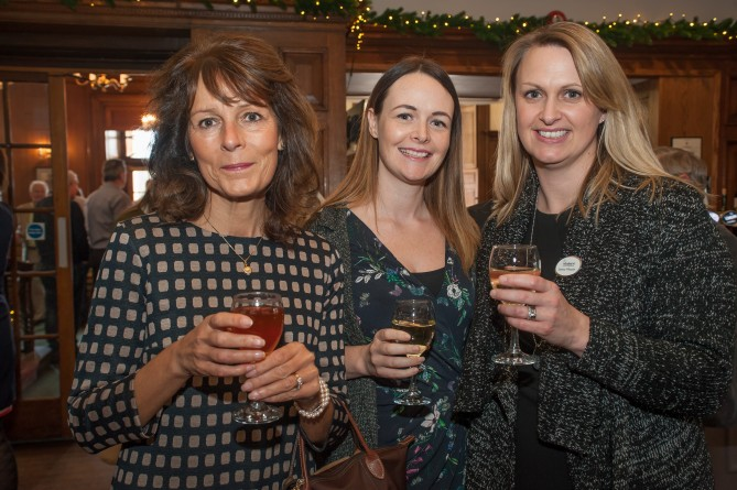 Sian Scholes, Lucy Caddick and Jessica Wheeler, Elmhurst Ballet School