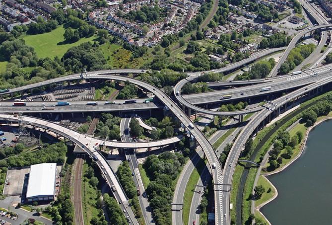 Spaghetti Junction Interchange, Birmingham