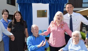 Official opening of Bupa Pebble Mill Care Home. 01.07.18