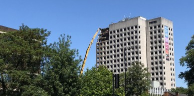 Edgbaston House demolition