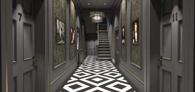 The new Edgbaston Hallway CGI