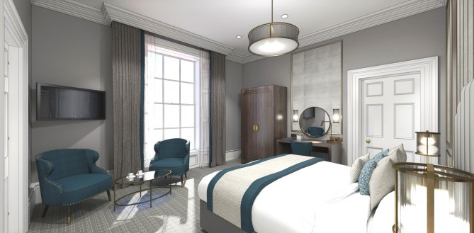 The new Edgbaston bedroom 2 CGI
