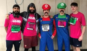 JW Hinks Birmingham Half Marathon Team