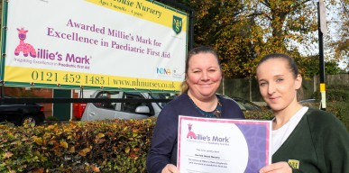 Norfolk House Nursery Millie's Mark